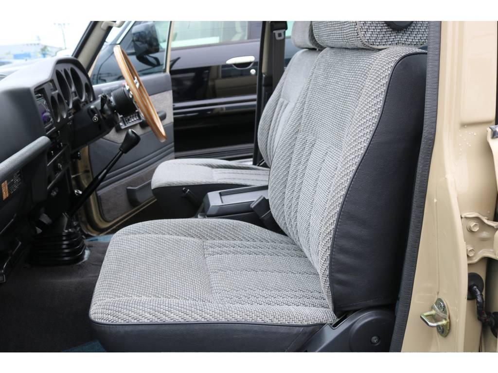 オリジナルシートで残っております!探してる人も多いはず! | トヨタ ランドクルーザー60 4.0 GX 4WD ガソリン車 集中ドアロック