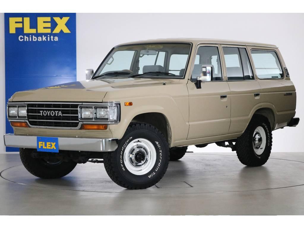 20万kmオーバーが多い中、8万km台の低走行ランクル60GXの入庫です!こんな車両もうお目にかかれないかも!? | トヨタ ランドクルーザー60 4.0 GX 4WD ガソリン車 集中ドアロック