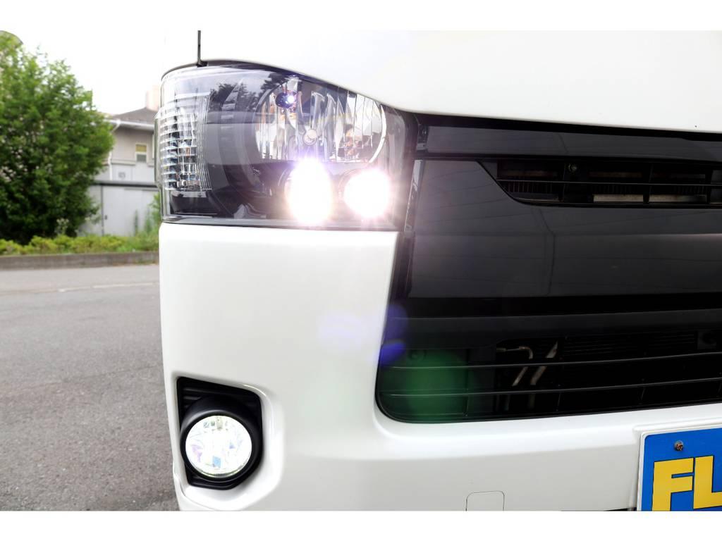 LEDフォブ!LEDポジション球!LEDウィンカー! | トヨタ ハイエースバン 2.0 スーパーGL ロング COBRAエアロ