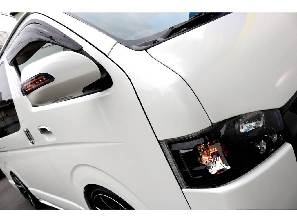ヴァレンティーウィンカーミラー! | トヨタ ハイエースバン 2.0 スーパーGL ロング COBRAエアロ
