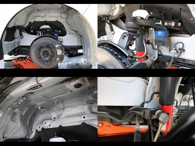 足回りもしっかり洗浄済み!KONIショック装備車! | トヨタ ハイエースバン 2.0 スーパーGL ロング COBRAエアロ