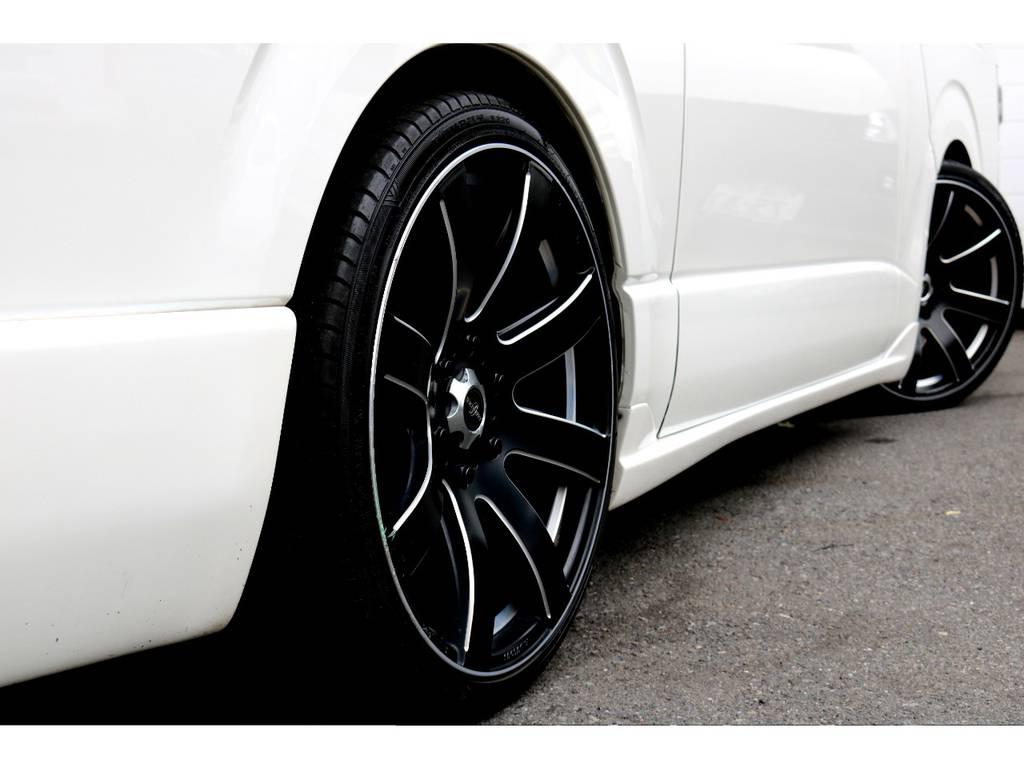 パンデミック20インチアルミ! | トヨタ ハイエースバン 2.0 スーパーGL ロング COBRAエアロ