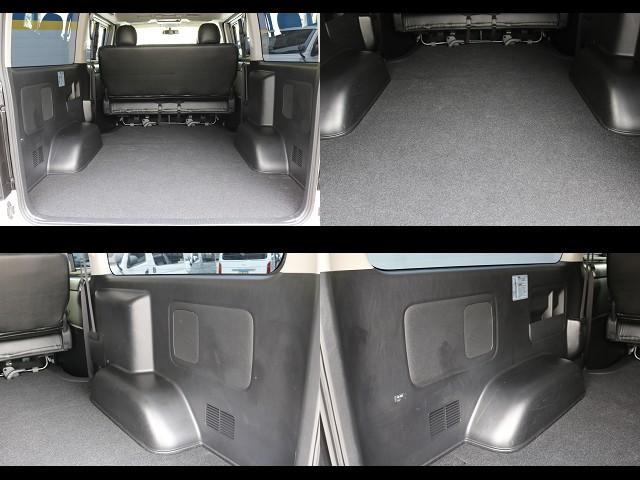 ラゲッジカーペット新品交換済み! | トヨタ ハイエースバン 2.0 スーパーGL ロング COBRAエアロ