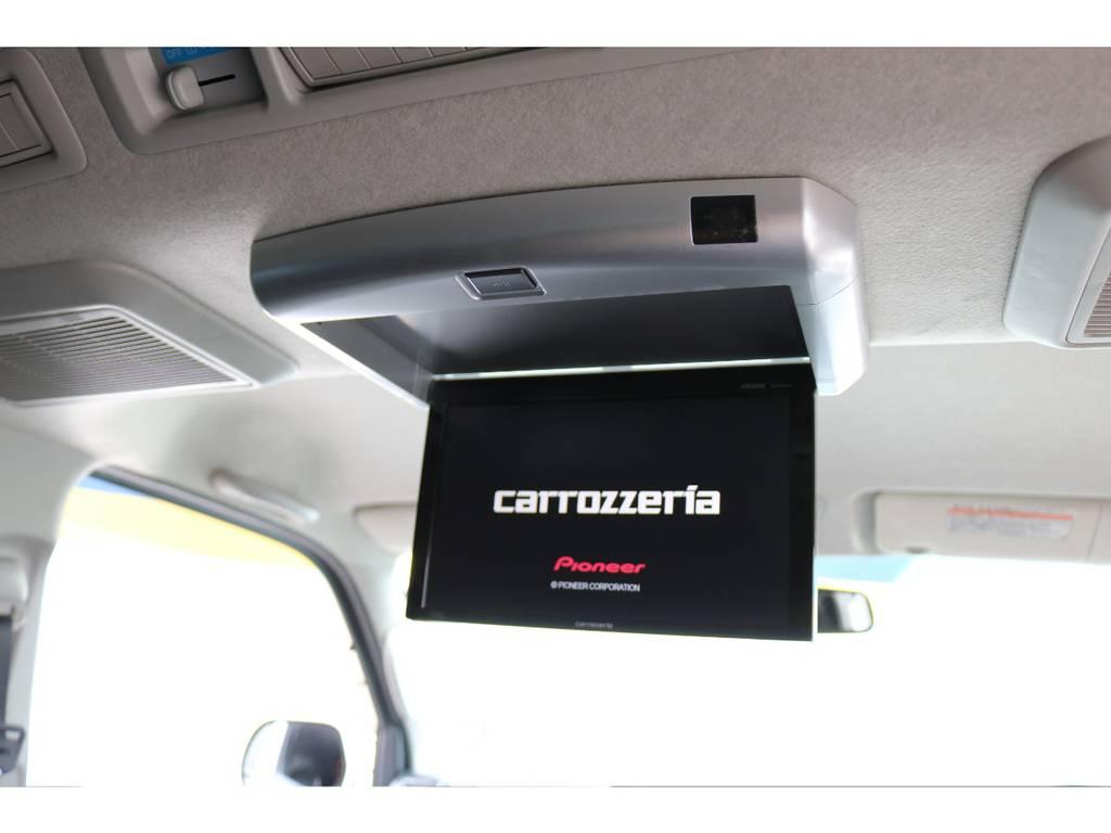 カロッツェリアリアフリップダウンモニター! | トヨタ ハイエースバン 2.0 スーパーGL ロング COBRAエアロ