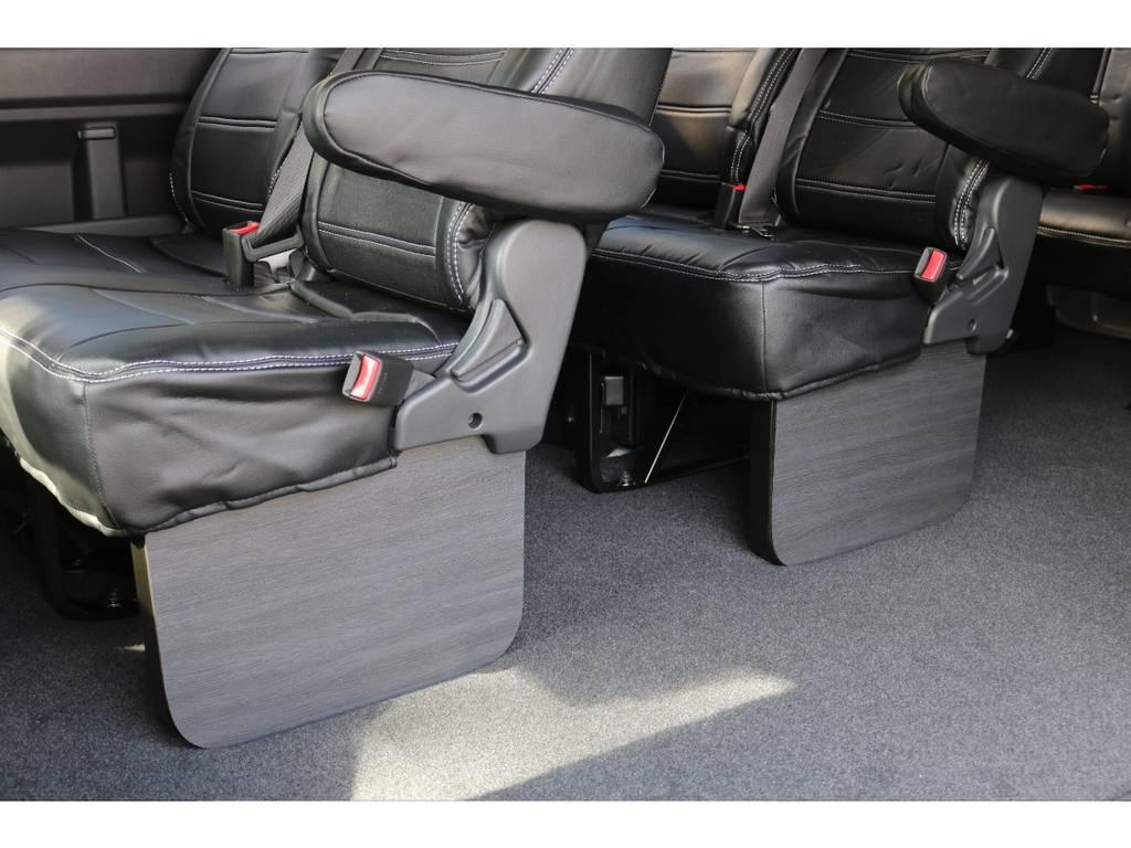 FLEXフットパネル付き! | トヨタ ハイエース 2.7 GL ロング ミドルルーフ 新型TSSP有ナビパッケージ