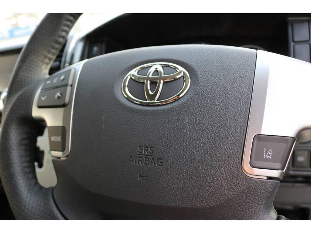 レーンアシスト付き! | トヨタ ハイエース 2.7 GL ロング ミドルルーフ 新型TSSP有ナビパッケージ