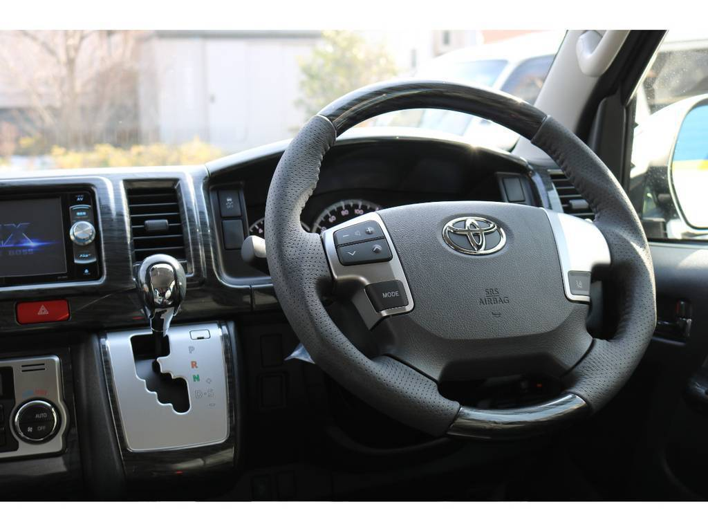コンビハンドル&シフトノブ! | トヨタ ハイエース 2.7 GL ロング ミドルルーフ 新型TSSP有ナビパッケージ