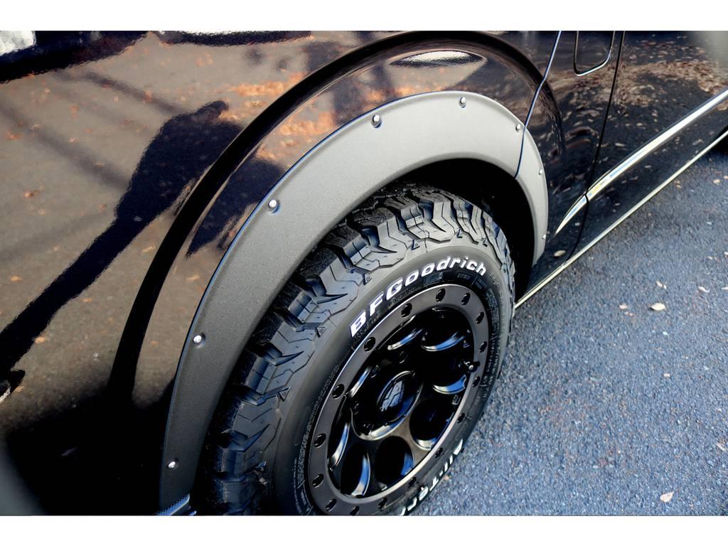 新品ESSEXオーバーフェンダー装着!   トヨタ レジアスエース 2.7 スーパーGL ワイド ミドルルーフ ロングボディ 4WD 買取直販4WDスタイル
