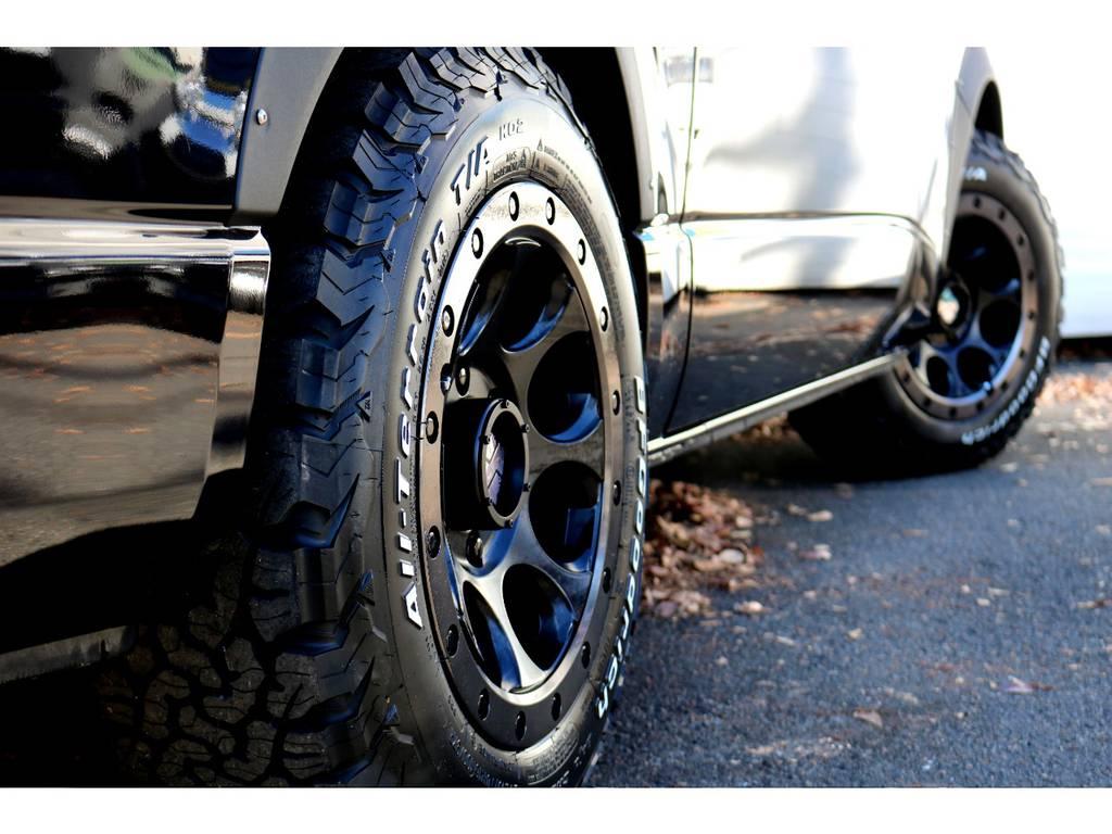 新品エクストリーム16インチアルミ!BFグッドリッチタイヤ!   トヨタ レジアスエース 2.7 スーパーGL ワイド ミドルルーフ ロングボディ 4WD 買取直販4WDスタイル