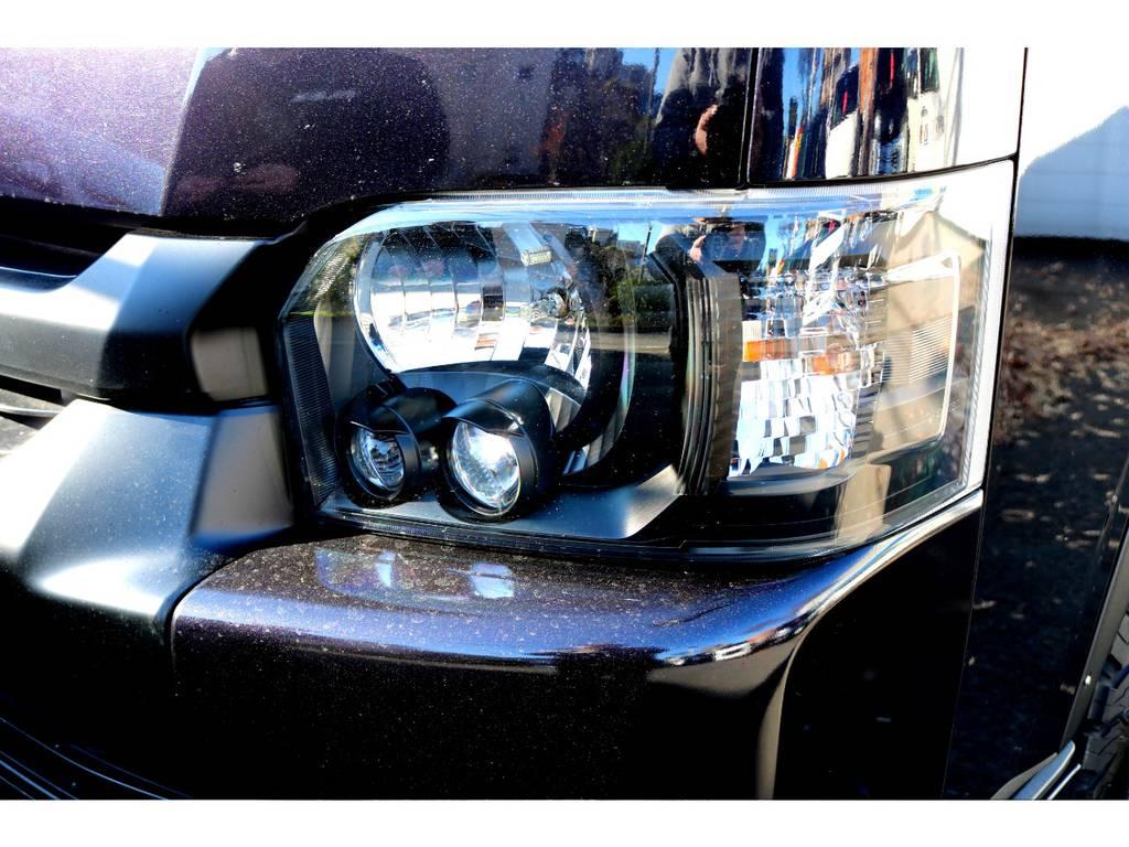 NEWペイントLEDヘッドライトインナーブラック施工!   トヨタ レジアスエース 2.7 スーパーGL ワイド ミドルルーフ ロングボディ 4WD 買取直販4WDスタイル