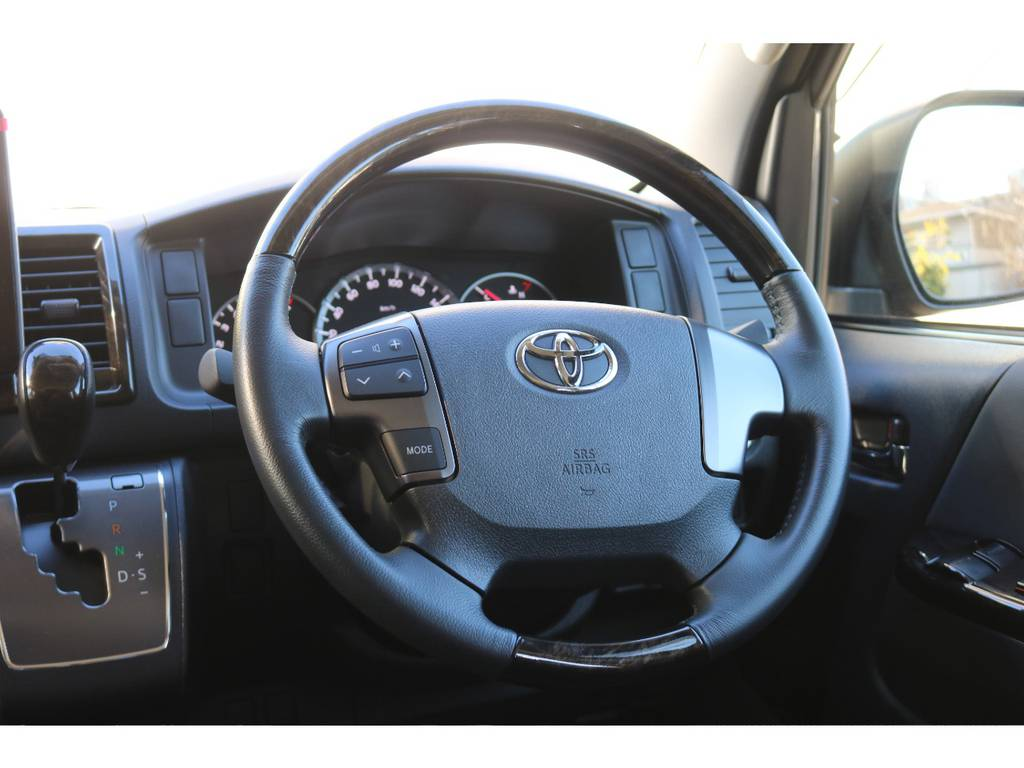 コンビハンドル&シフトノブ!   トヨタ レジアスエース 2.7 スーパーGL ワイド ミドルルーフ ロングボディ 4WD 買取直販4WDスタイル