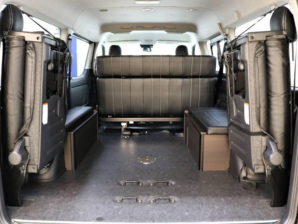 床張り施工の1台です! | トヨタ ハイエース 2.7 GL ロング ミドルルーフ 買取直販ワンオーナー車シートアレンジ車