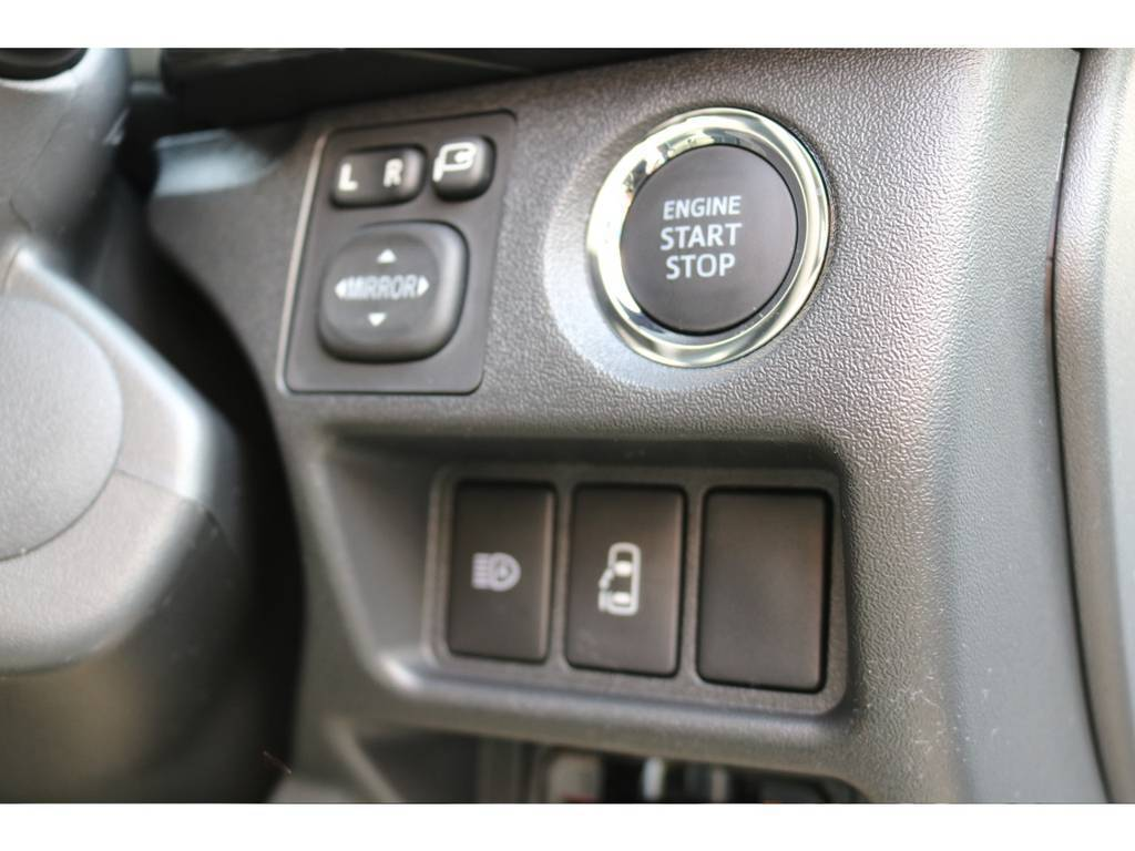 パワースライドドア付きプッシュスタート&スマートキー!!! | トヨタ ハイエース 2.7 GL ロング ミドルルーフ 買取直販ワンオーナー車シートアレンジ車