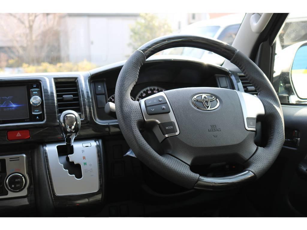 コンビハンドル&シフトノブ付き! | トヨタ ハイエース 2.7 GL ロング ミドルルーフ 買取直販ワンオーナー車シートアレンジ車
