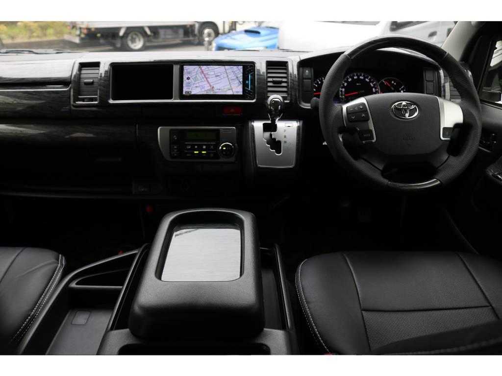 インテリアもしっかりカスタムしております! | トヨタ ハイエース 2.7 GL ロング ミドルルーフ 買取直販ワンオーナー車シートアレンジ車