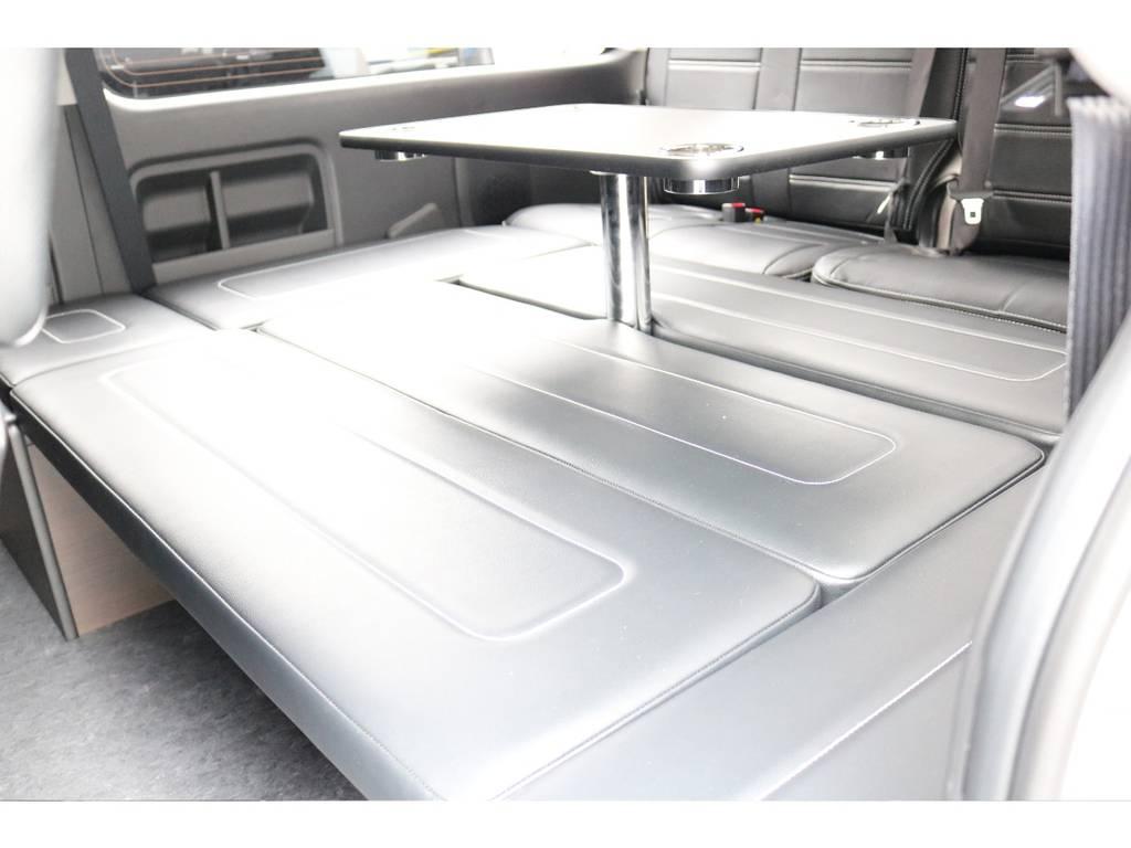 ベットKITのシートアレンジ車! | トヨタ ハイエース 2.7 GL ロング ミドルルーフ 買取直販ワンオーナー車シートアレンジ車