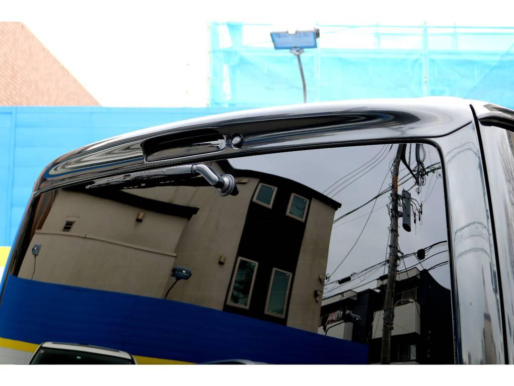 COBRAリアスポイラー!   トヨタ ハイエースバン 2.0 スーパーGL ロング 買取直販4型カスタム車