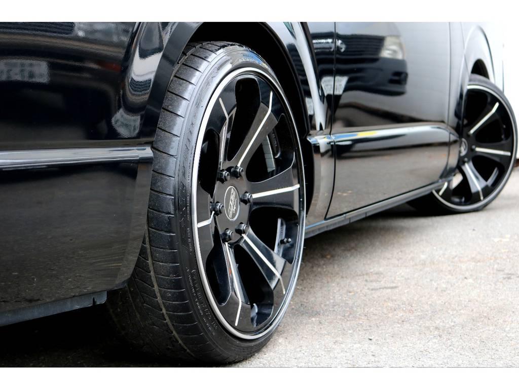 MTS20インチアルミ!   トヨタ ハイエースバン 2.0 スーパーGL ロング 買取直販4型カスタム車