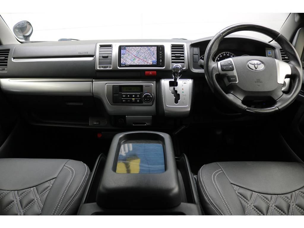 室内も綺麗に保たれております!   トヨタ ハイエースバン 2.0 スーパーGL ロング 買取直販4型カスタム車