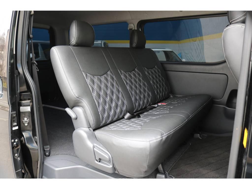 全席シートカバー装着済み!   トヨタ ハイエースバン 2.0 スーパーGL ロング 買取直販4型カスタム車
