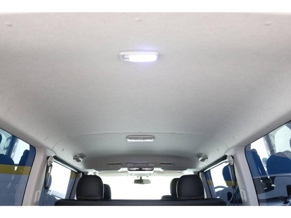天井も綺麗ですよ!   トヨタ ハイエースバン 2.0 スーパーGL ロング 買取直販4型カスタム車