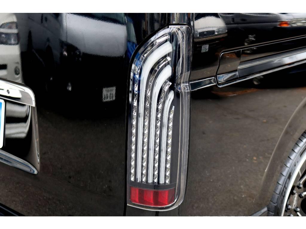 COBRALEDテール!   トヨタ ハイエースバン 2.0 スーパーGL ロング 買取直販4型カスタム車