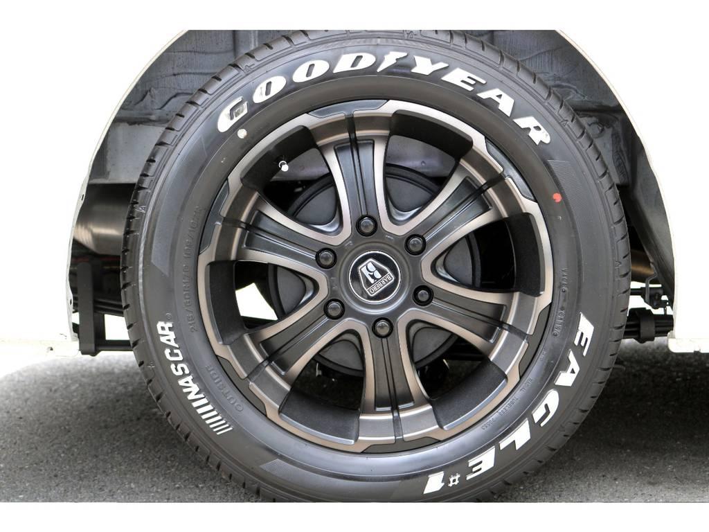 FLEXバルベロ17インチアルミ! | トヨタ ハイエースバン 2.8 スーパーGL ロング ディーゼルターボ 買取直販!現行50thワンオーナー車