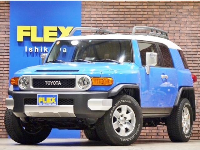 【逆輸入車】FJクルーザー コンビニエンス アップグレードパッケージⅡ | 米国トヨタ FJクルーザー  アップグレード2