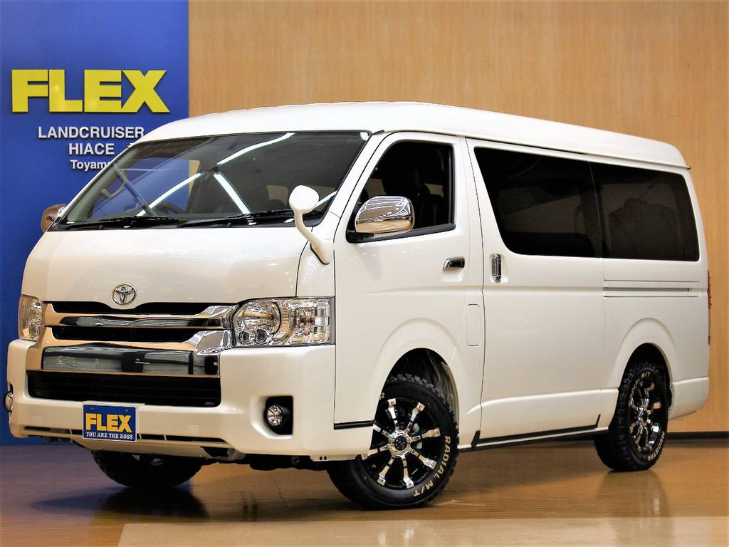 【新車ハイエースW 4WD GL FLEX Ver1 ツインナビPKG】