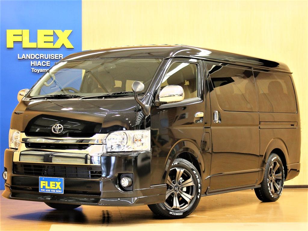 【新車ハイエースW 4WD GL FLEX Ver1】人気のシートアレンジ!ゆったりとした贅沢空間を!