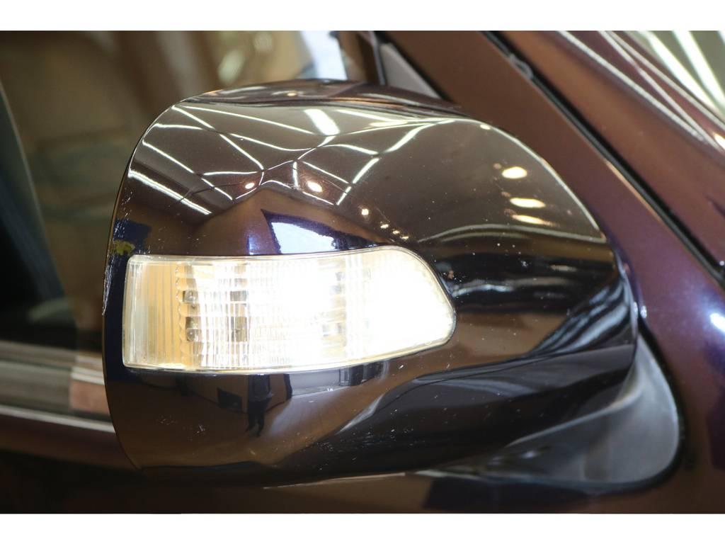 ウインカーミラーも装着車両ですよ♪ | トヨタ ハイエースバン 3.0 スーパーGL プライムセレクション ロング ディーゼルターボ 4WD ESSEXアルミホイール