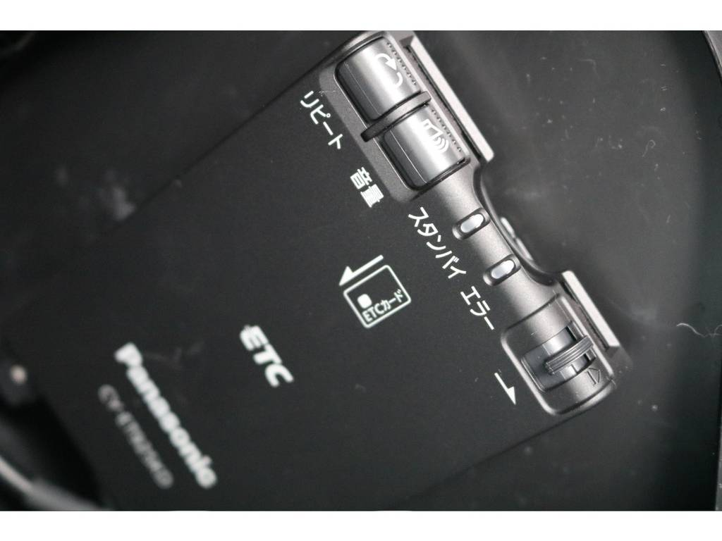ETCも新品を装着しました! | トヨタ ハイエースバン 3.0 スーパーGL プライムセレクション ロング ディーゼルターボ 4WD ESSEXアルミホイール