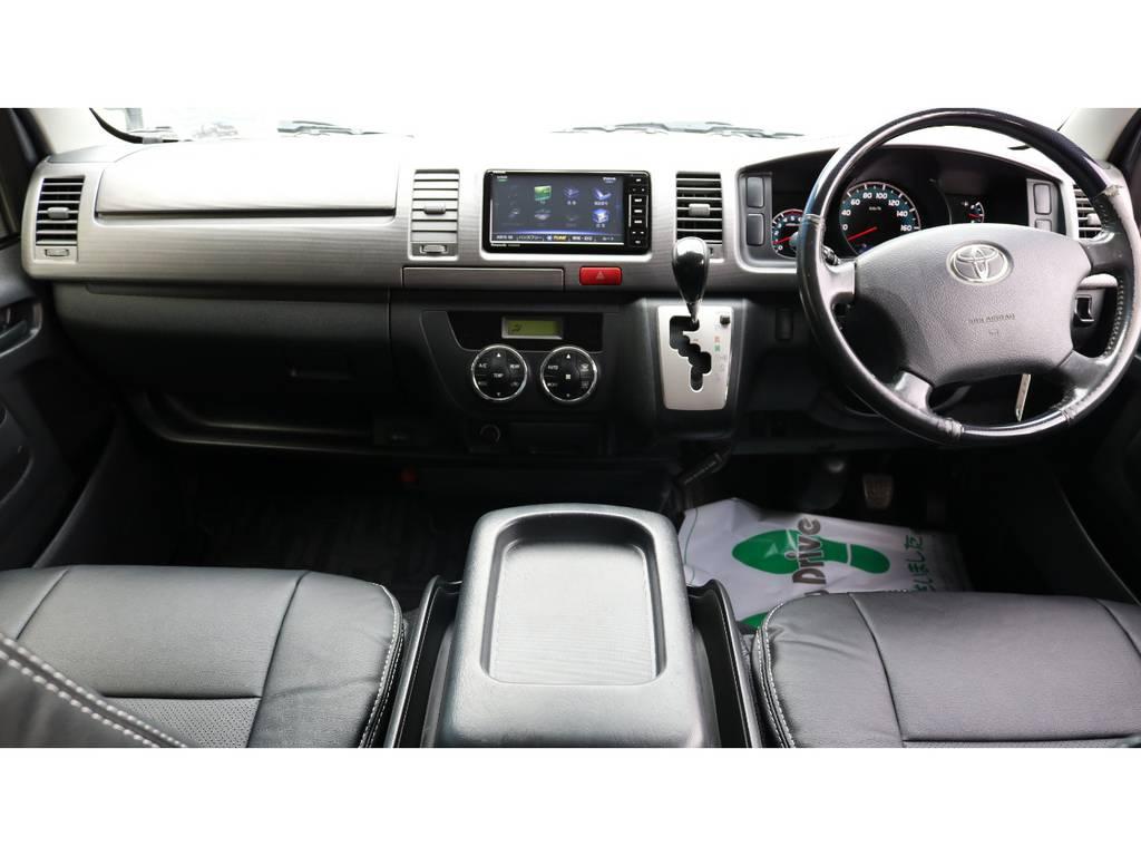 上質な室内空間! | トヨタ ハイエースバン 3.0 スーパーGL プライムセレクション ロング ディーゼルターボ 4WD ESSEXアルミホイール