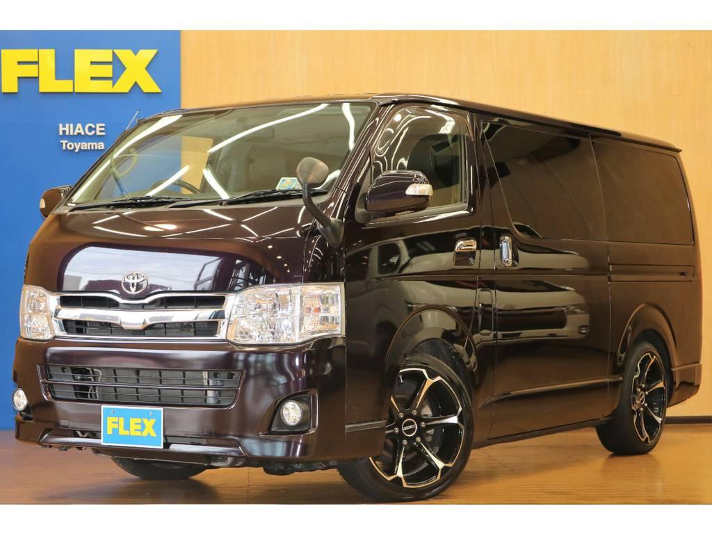 【ディーゼル4WD】3型後期プライムセレクション ハイエーススーパーGL | トヨタ ハイエースバン 3.0 スーパーGL プライムセレクション ロング ディーゼルターボ 4WD ESSEXアルミホイール