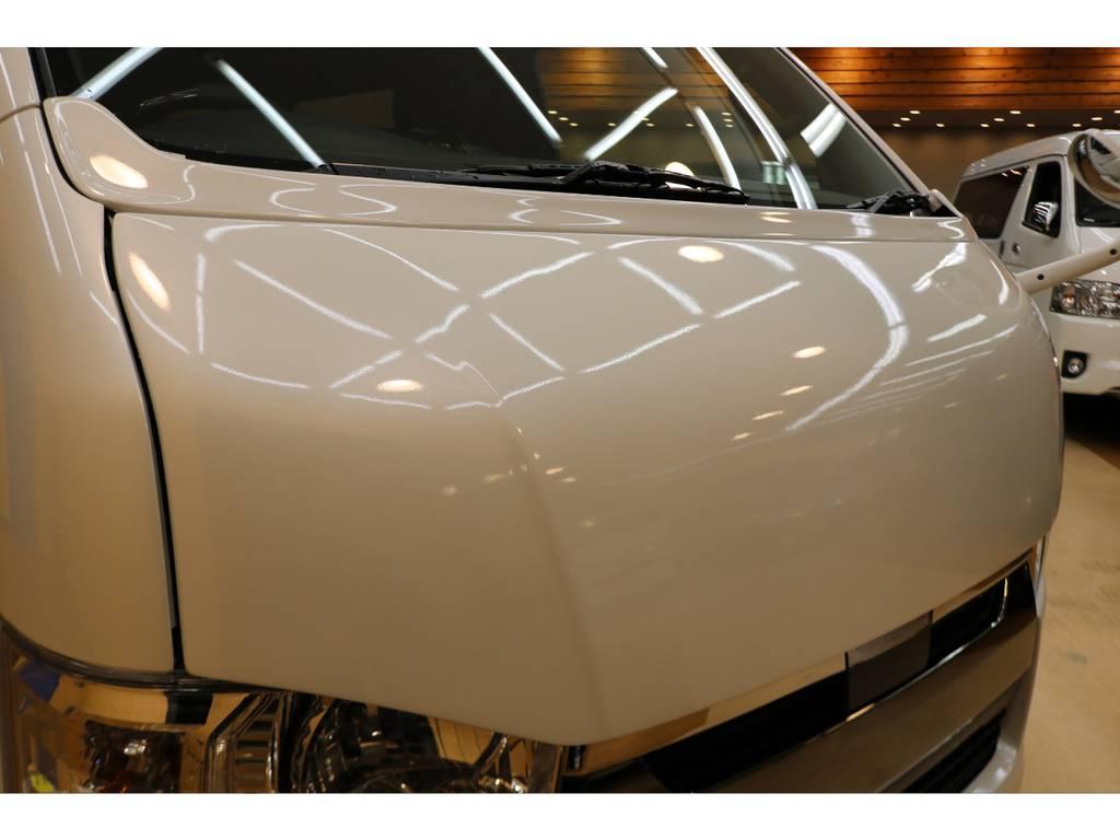 415コブラボンネット! | トヨタ ハイエースバン 2.8 スーパーGL 50TH アニバーサリー リミテッド ロングボディ ディーゼルターボ 4WD 415コブラフルエアロ