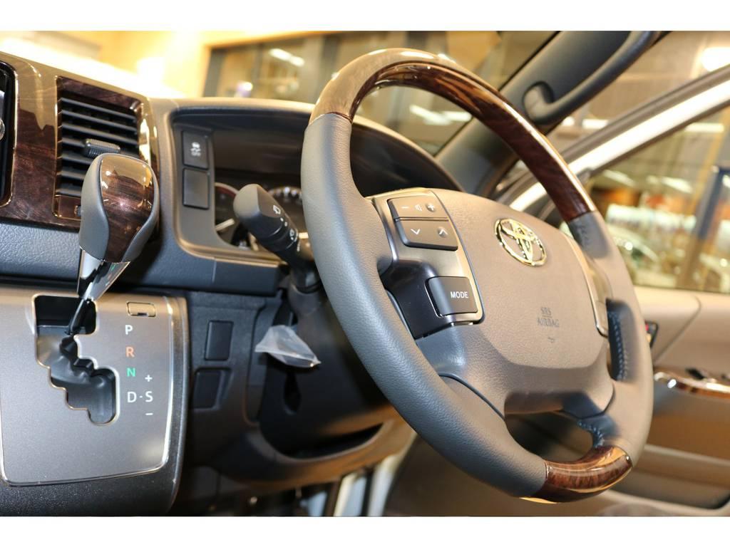 50周年アニバーサリー車両のインテリアですよ♪ | トヨタ ハイエースバン 2.7 スーパーGL 50THアニバーサリー リミテッド ワイド ミドルルーフ ロングボディ4WD フレックスカスタム