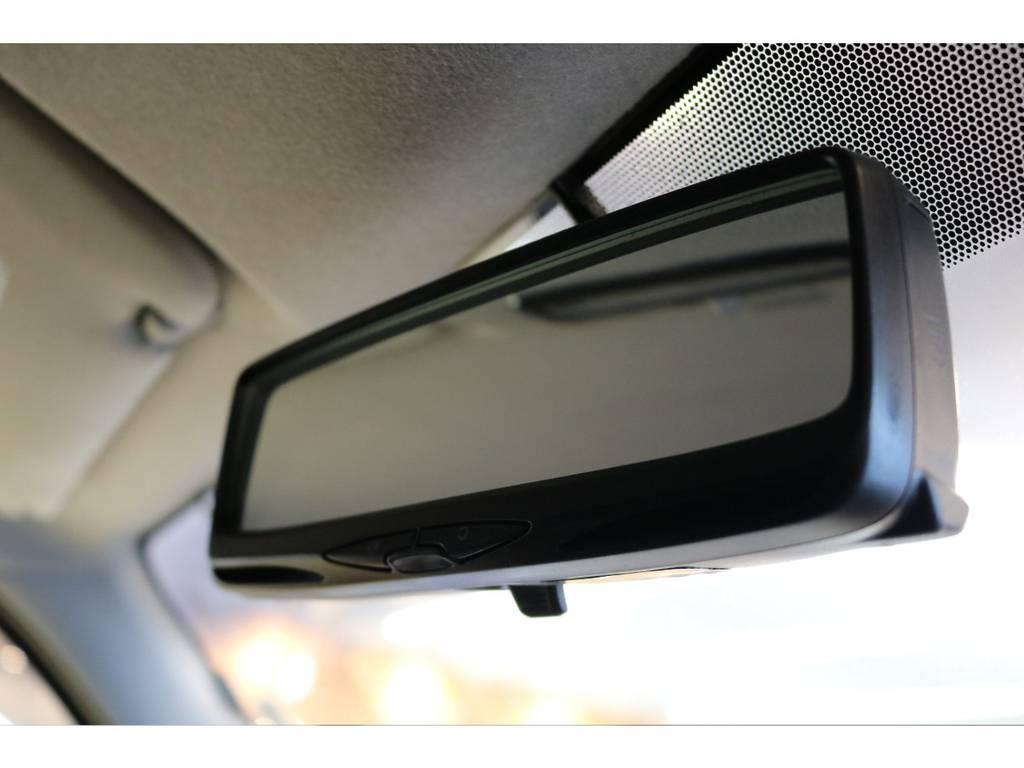 ルームミラー内蔵のETC! | トヨタ ハイエースバン 3.0 スーパーGL ロング ディーゼルターボ 4WD オリジナルフロントスポイラー装着