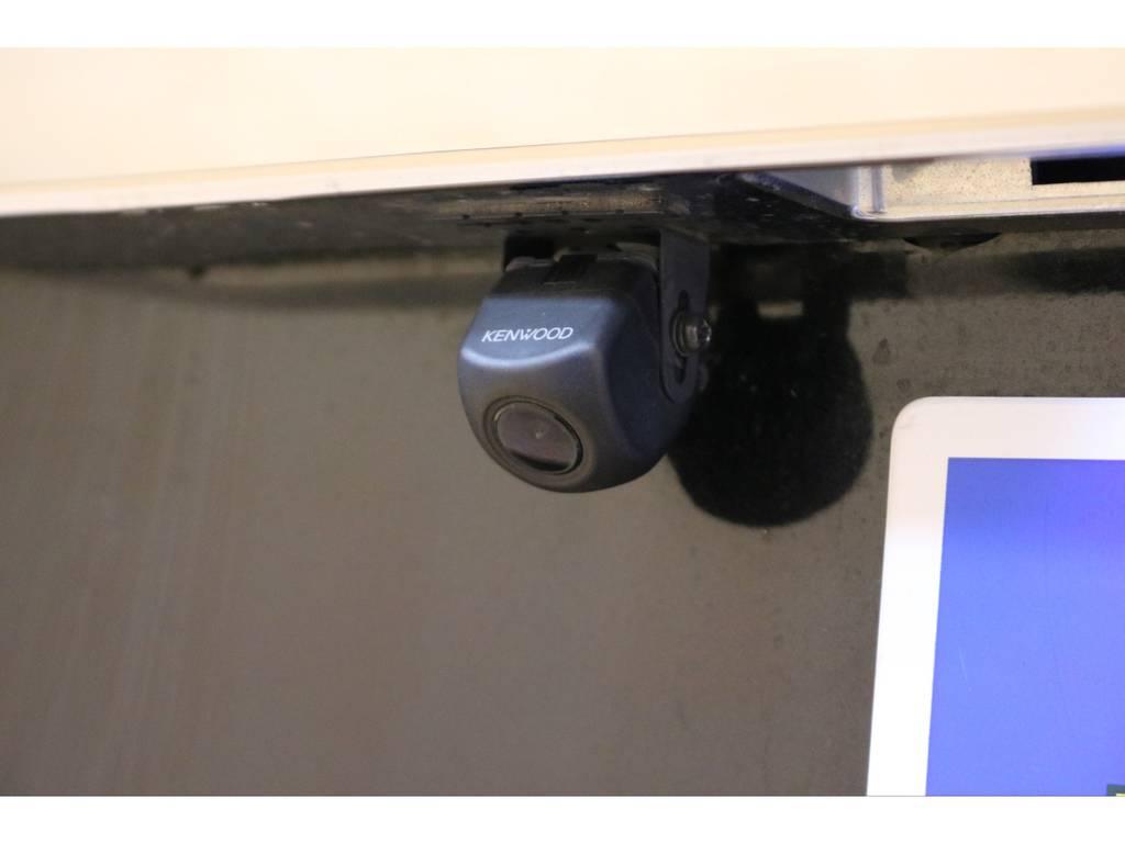 バックカメラも装着済み! | トヨタ ハイエースバン 3.0 スーパーGL ロング ディーゼルターボ 4WD オリジナルフロントスポイラー装着
