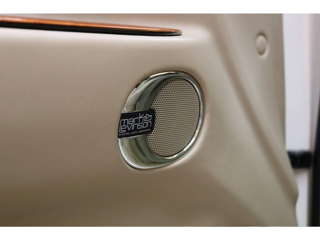 オプションのマークレビンソン装着しております♪ | トヨタ ランドクルーザーシグナス 4.7 4WD 下取り直販