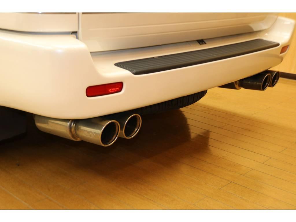 ガナドールマフラーですよ♪ | トヨタ ランドクルーザーシグナス 4.7 4WD 下取り直販