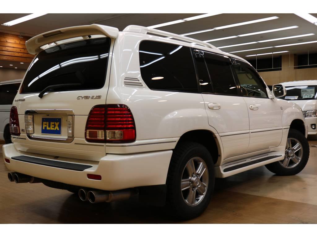 お問合せお待ちしております! | トヨタ ランドクルーザーシグナス 4.7 4WD 下取り直販