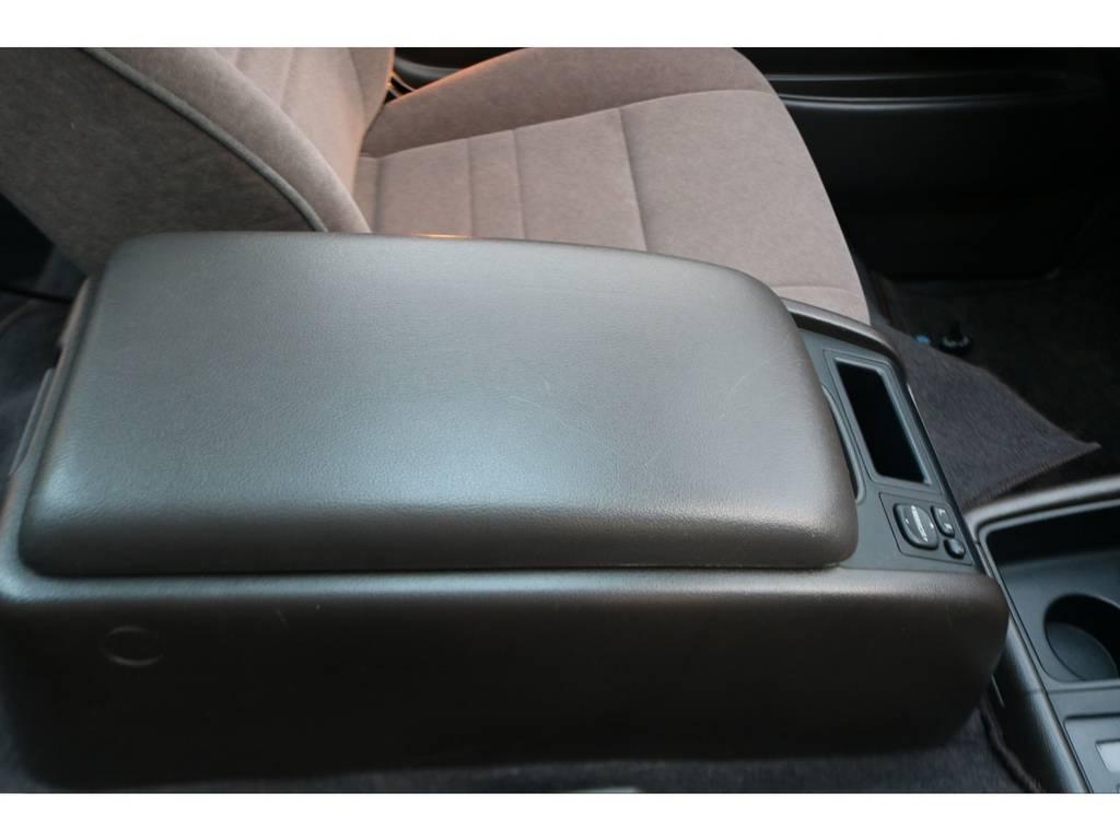 100系のコンソールはいいですね♪ | トヨタ ハイエース 3.0 スーパーカスタムG リビングサルーンEX ディーゼルターボ 4WD 下取り直販