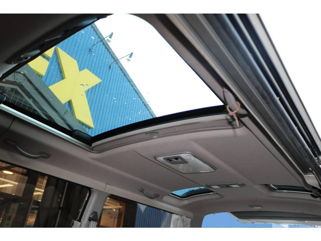 トリプルムーンルーフ! | トヨタ ハイエース 3.0 スーパーカスタムG リビングサルーンEX ディーゼルターボ 4WD 下取り直販