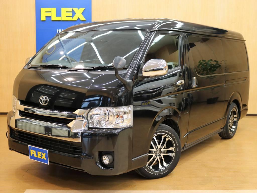 下取り直販!ワゴンGL 4WD H28年式低走行!FLEXオリジナル内装架装Ver.2 フルフラットから対面式まで幅広いシートアレンジが可能です!