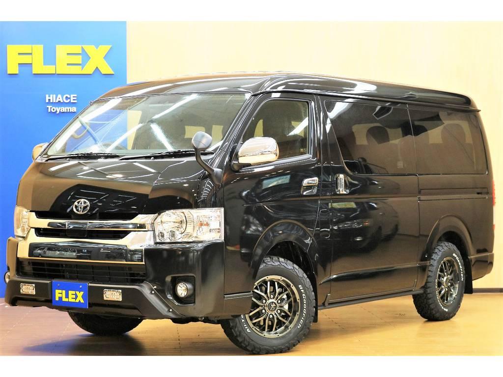 ハイエース 2.7 GL ロング ミドルルーフ 4WD WILDパッケージ♪076-471-8439お電話でもお問い合わせお待ちしております?