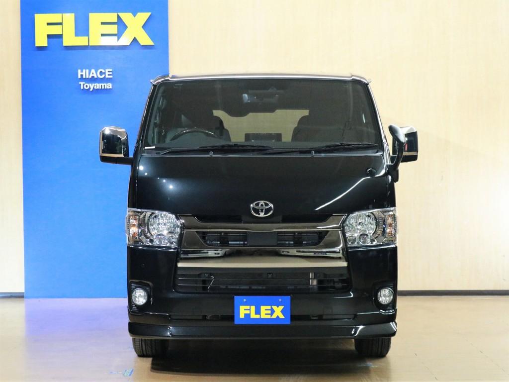 こちらの車両をお買い求めの際は是非FLEXハイエース富山店へ!お待ちしております♪