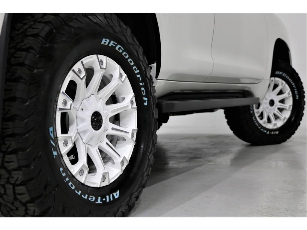 即納車可能!!安心の整備・構造変更!!全て当店にお任せください!!   トヨタ ランドクルーザープラド 2.8 TX Lパッケージ ディーゼルターボ 4WD 新車未登録 2インチUP