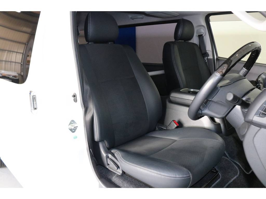 お問い合わせは、0586777753まで!!全国販売可能!!!遠方のお客様は全国のFLEXでアフターフォローが受けられます!!追加カスタムも可能ですのでお気軽にご相談ください!! | トヨタ ハイエースバン 3.0 スーパーGL ダークプライム ロングボディ ディーゼルターボ 4WD