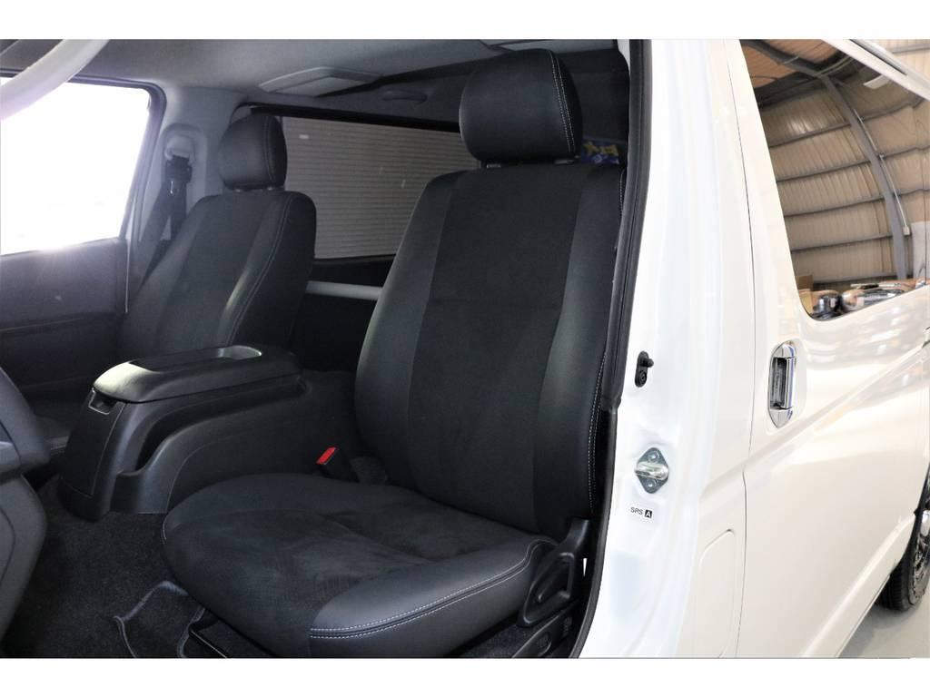 中古車は全車徹底的にルームクリーニング!!綺麗な状態で納車させて頂きます。 | トヨタ ハイエースバン 3.0 スーパーGL ダークプライム ロングボディ ディーゼルターボ 4WD