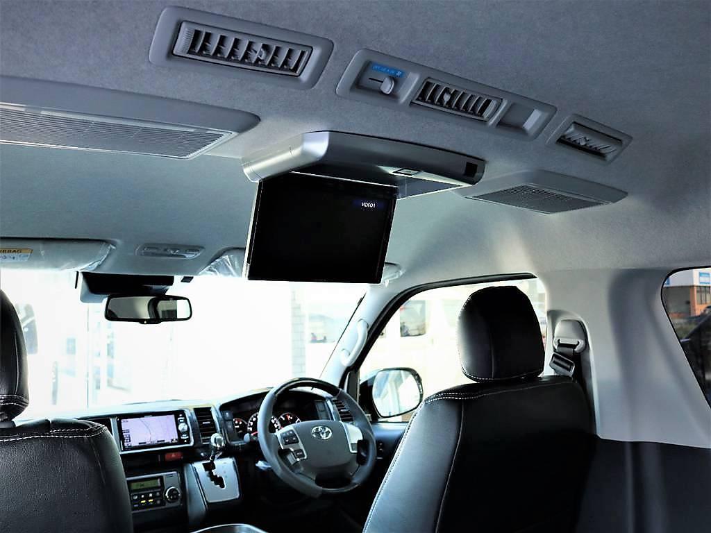 メーカーオプション多数!!!!電動パワースライドドア・バックモニター内蔵自動防眩ミラーなど | トヨタ ハイエース 2.7 GL ロング ミドルルーフ 4WD TSS寒冷地付アレンジAS